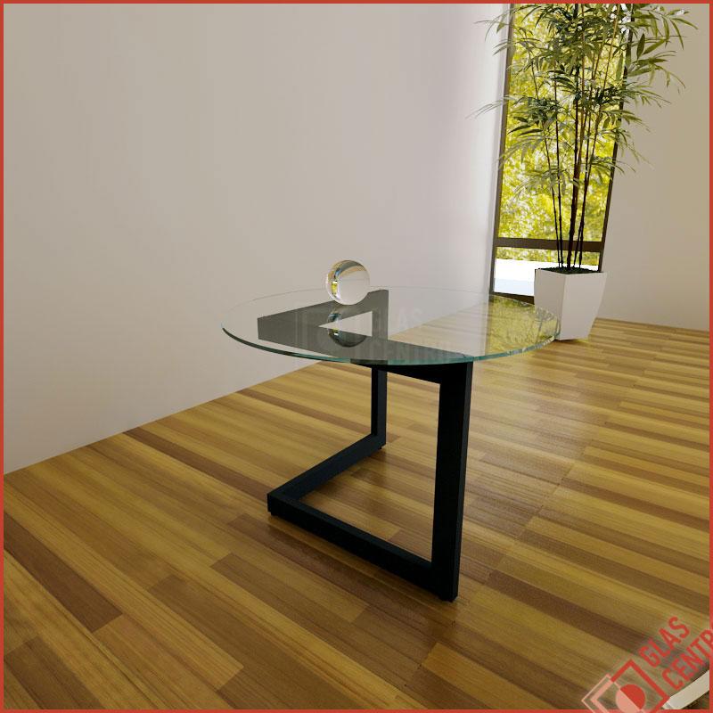 glasplatte tischplatte couchtisch rund 95cm f. Black Bedroom Furniture Sets. Home Design Ideas