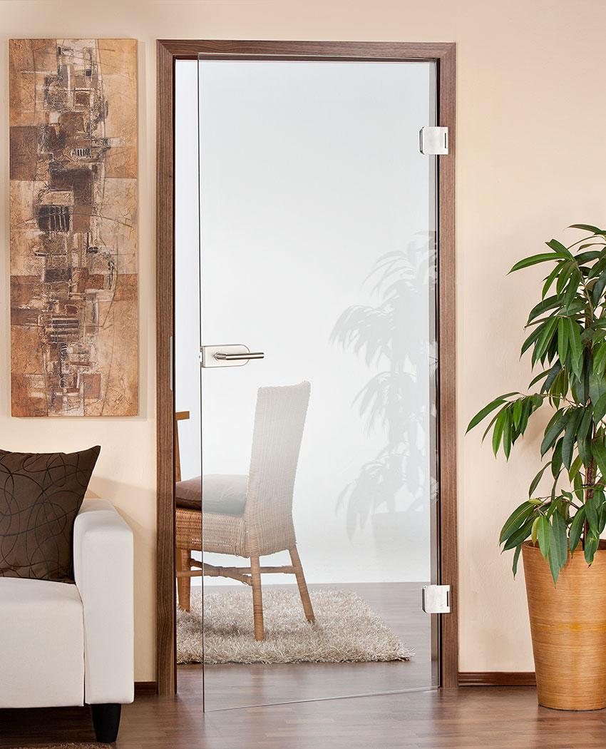 Zimmertüren glas satiniert  Badezimmertür Mit Glaseinsatz: Zimmertür aus glas securit doors by ...